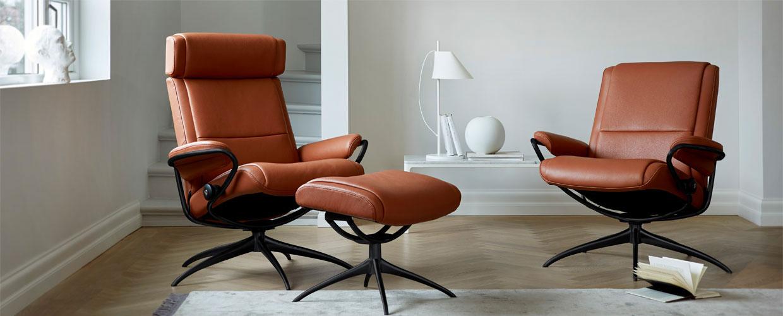 Lænestole læder