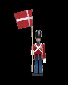 FANEBÆRER M/TEKSTILFLAG