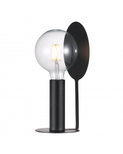 DEAN DISC BORDLAMPE  SORT