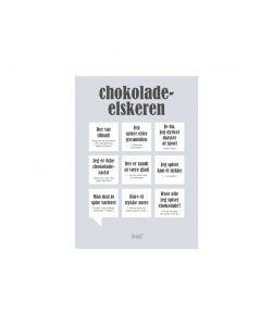 CHOKOLADE-ELSKEREN